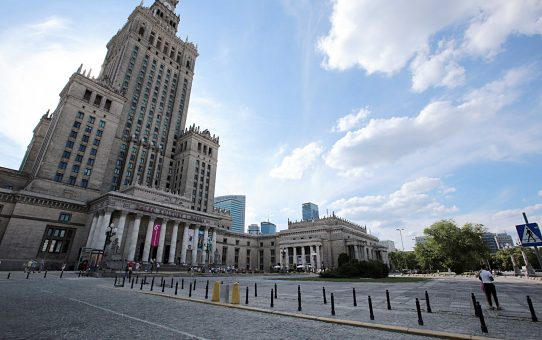 Varsovie-Le Palais de la culture et de la science